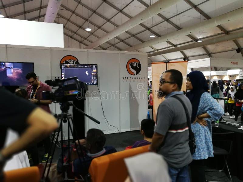 Κουάλα Λουμπούρ, Μαλαισία - 16 Σεπτεμβρίου 2017 mydigitalmaker είναι ένα κοινό δημόσιο -ιδιωτικό γεγονός στοκ φωτογραφίες με δικαίωμα ελεύθερης χρήσης