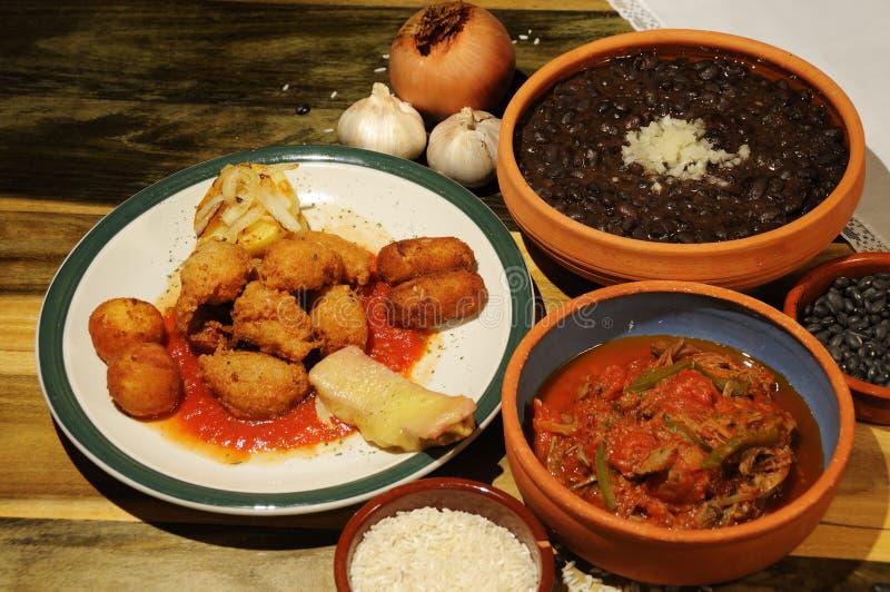 κουβανικά πιάτα στοκ φωτογραφίες με δικαίωμα ελεύθερης χρήσης