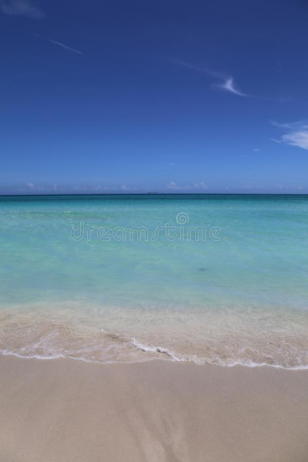 Κουβανική θάλασσα στοκ εικόνες