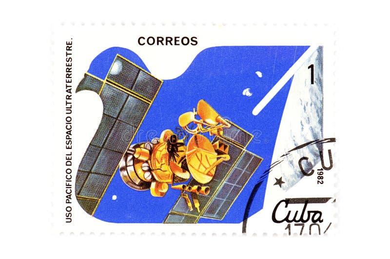 κουβανικό γραμματόσημο στοκ εικόνα