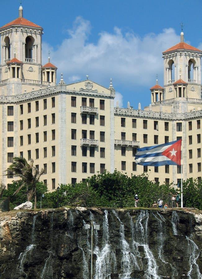 κουβανικό ξενοδοχείο στοκ εικόνα
