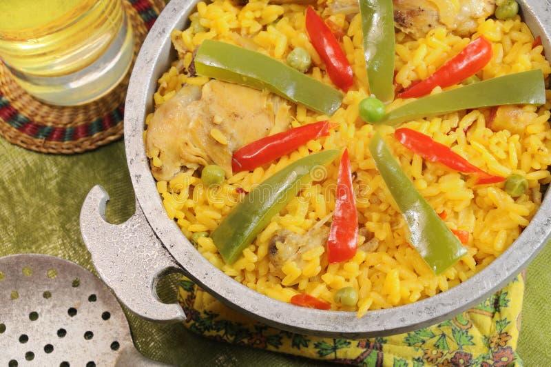 κουβανικό πιάτο χαρακτηριστικό στοκ εικόνες