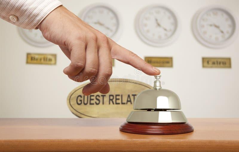 Κουδούνι ξενοδοχείων στοκ φωτογραφίες με δικαίωμα ελεύθερης χρήσης