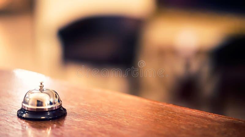 Κουδούνι υπηρεσιών ξενοδοχείων στοκ εικόνα με δικαίωμα ελεύθερης χρήσης