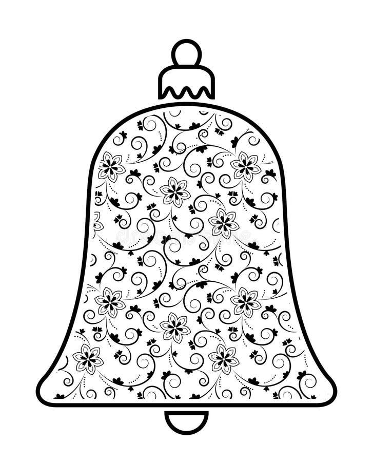 Κουδούνι Χριστουγέννων απεικόνιση αποθεμάτων