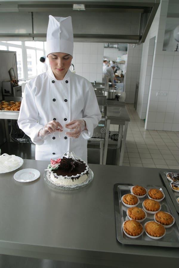 κουζίνα μαγείρων στοκ φωτογραφία με δικαίωμα ελεύθερης χρήσης