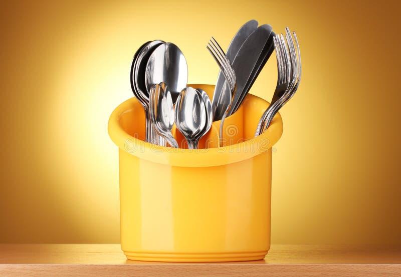 κουζίνα μαχαιροπήρουνων στοκ εικόνα με δικαίωμα ελεύθερης χρήσης