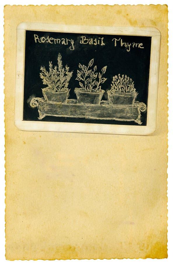 κουζίνα πινάκων κιμωλίας στοκ εικόνες με δικαίωμα ελεύθερης χρήσης