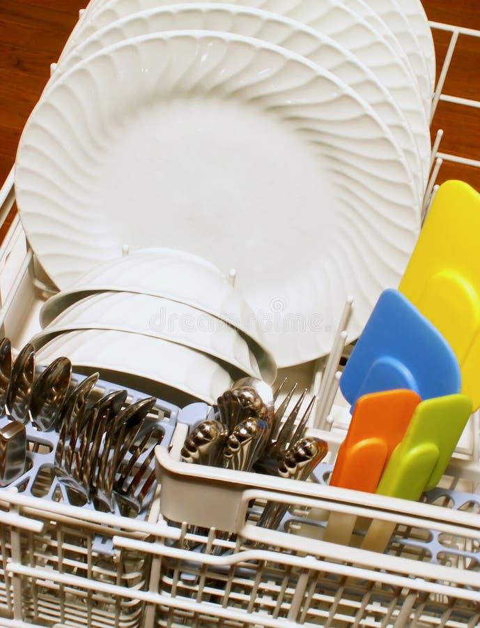 κουζίνα πλυντηρίων πιάτων στοκ φωτογραφίες