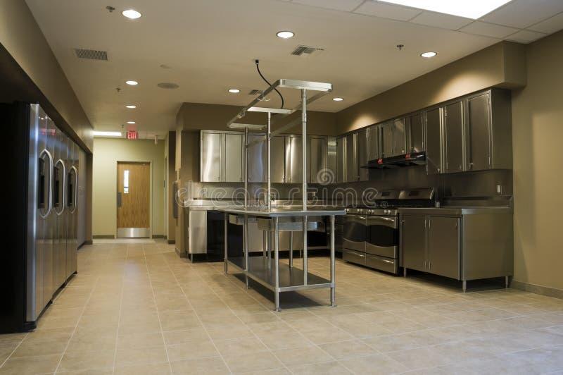 Κουζίνα στο σταθμό πυρκαγιάς στοκ φωτογραφίες με δικαίωμα ελεύθερης χρήσης