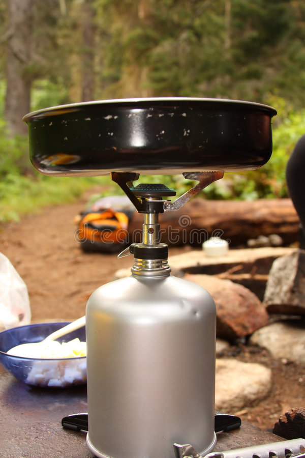 κουζίνα στρατόπεδων στοκ φωτογραφία με δικαίωμα ελεύθερης χρήσης
