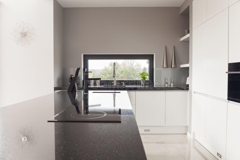 Κουζίνα σχεδίου Modrn στοκ εικόνες με δικαίωμα ελεύθερης χρήσης