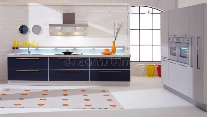 κουζίνα σύγχρονη στοκ εικόνα