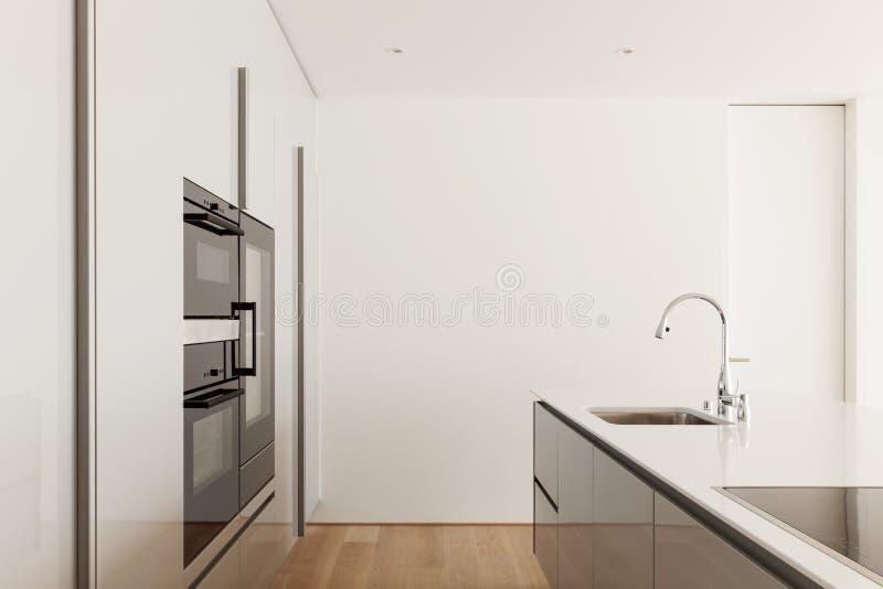 κουζίνα σύγχρονη στοκ φωτογραφία
