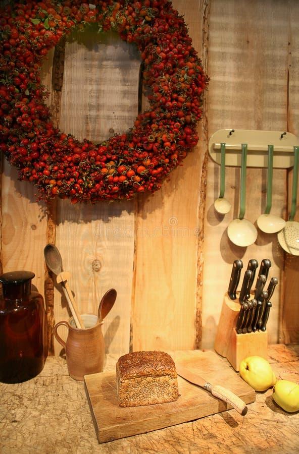 κουζίνα φθινοπώρου στοκ εικόνα