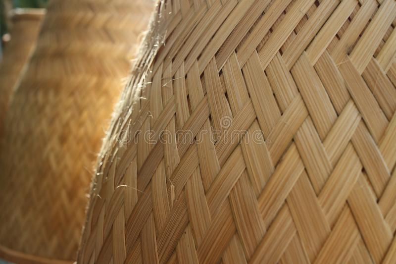 Κουζίνες ρυζιού φιαγμένες από ξύλο στοκ φωτογραφία