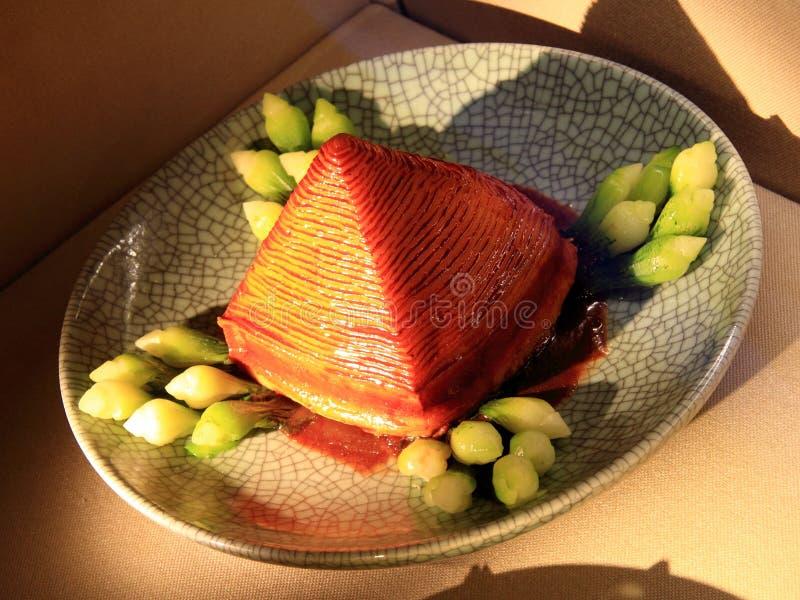 Κουζίνες Hangzhou - αργό χρυσός χοιρινό κρέας στοκ φωτογραφίες