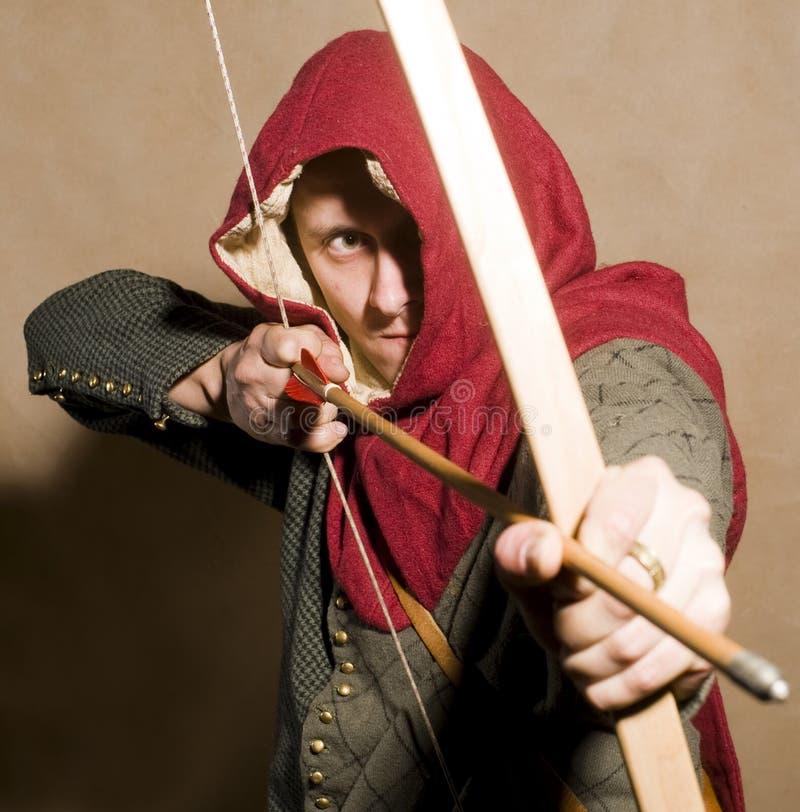κουκούλα Robin στοκ εικόνα με δικαίωμα ελεύθερης χρήσης