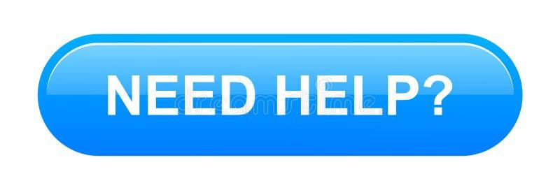 Κουμπί βοήθειας ανάγκης απεικόνιση αποθεμάτων