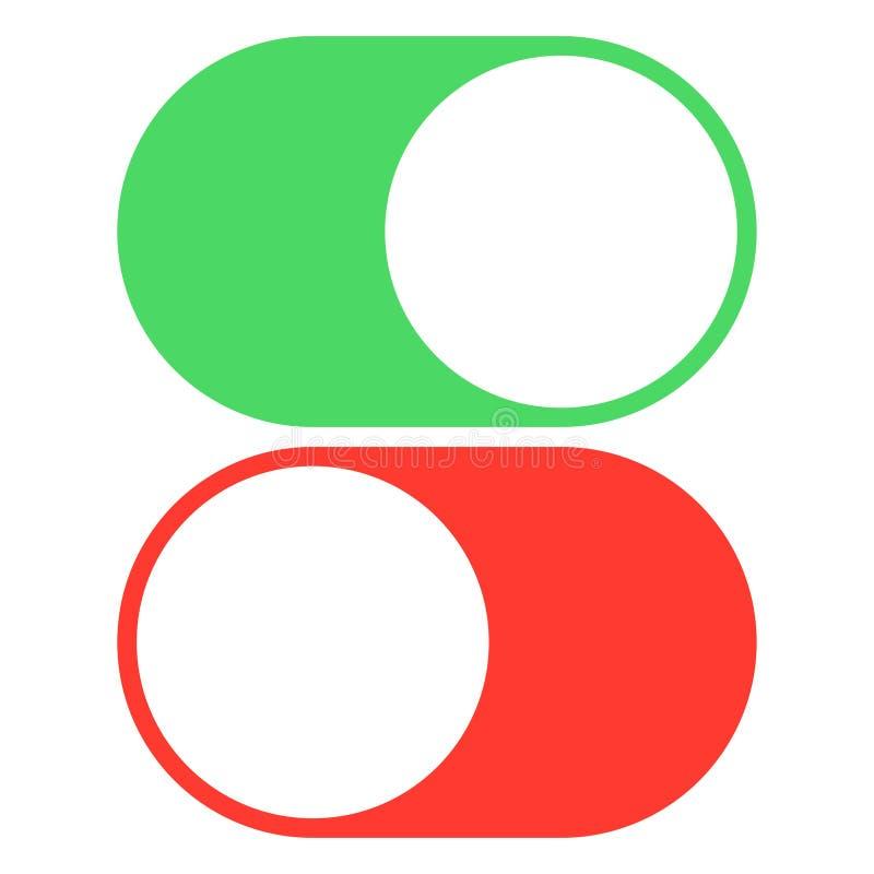 Κουμπί για να ανοίξει και από το χρώμα απεικόνιση αποθεμάτων