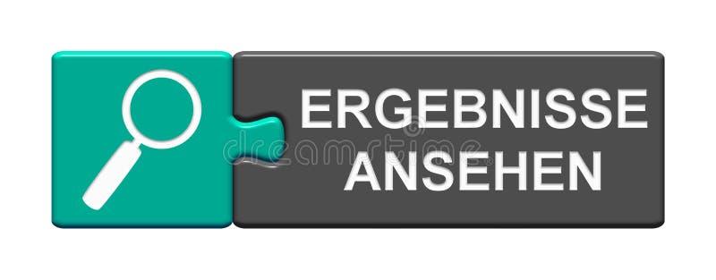 Κουμπί γρίφων: Η άποψη οδηγεί γερμανικά ελεύθερη απεικόνιση δικαιώματος