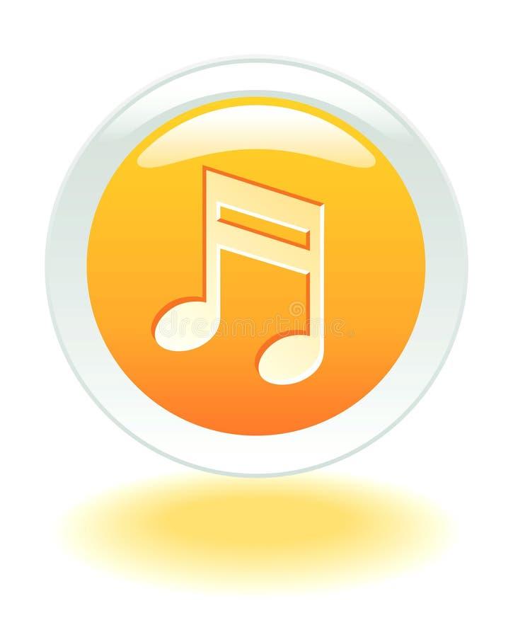 κουμπί Διαδίκτυο μουσι& απεικόνιση αποθεμάτων