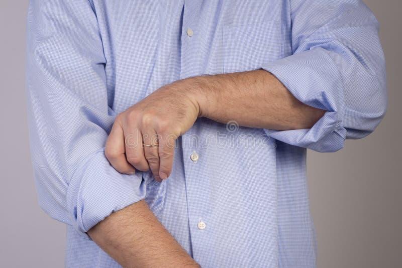 Κουμπί επάνω στοκ εικόνα με δικαίωμα ελεύθερης χρήσης
