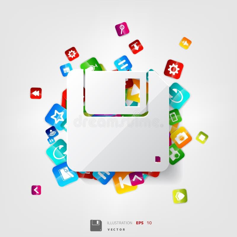 κουμπί εφαρμογής συνομιλίες έννοιας επικοινωνίας δεσμών που έχουν τους ανθρώπους μέσων κοινωνικούς σύννεφο του 2010 που υπολ&omic ελεύθερη απεικόνιση δικαιώματος