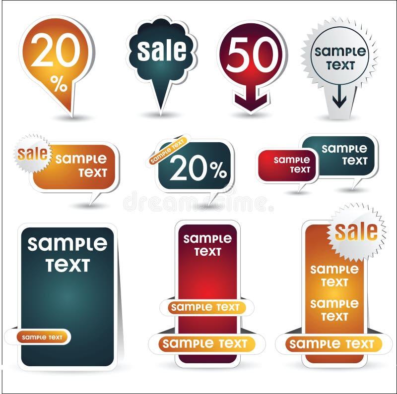 Κουμπί Ιστού απεικόνιση αποθεμάτων