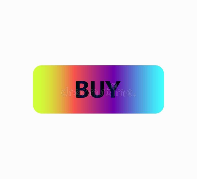 Κουμπί νέου για τον ιστοχώρο - αγοράστε διανυσματική απεικόνιση