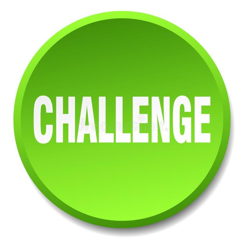 Κουμπί πρόκλησης απεικόνιση αποθεμάτων