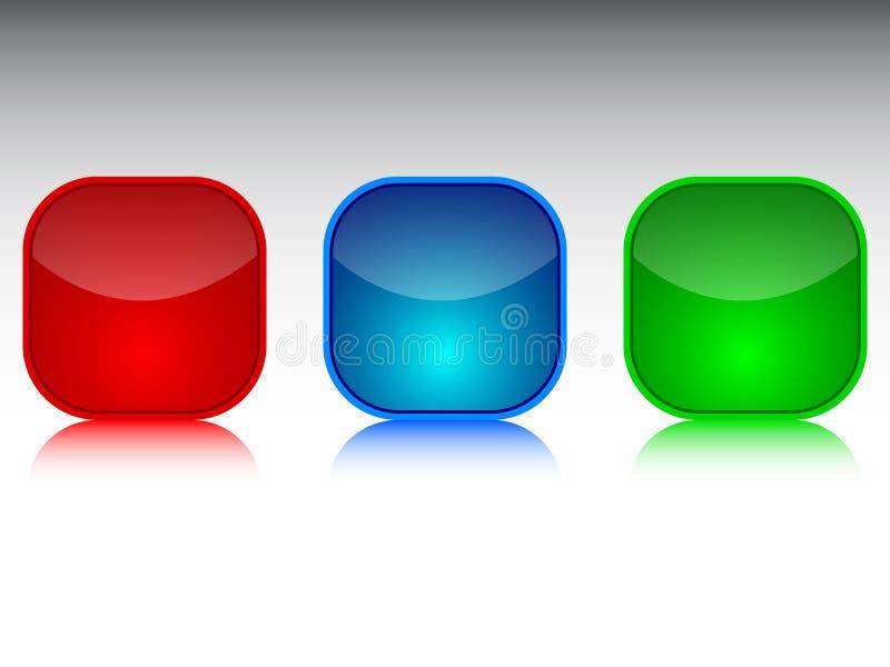 κουμπί σύγχρονο διανυσματική απεικόνιση