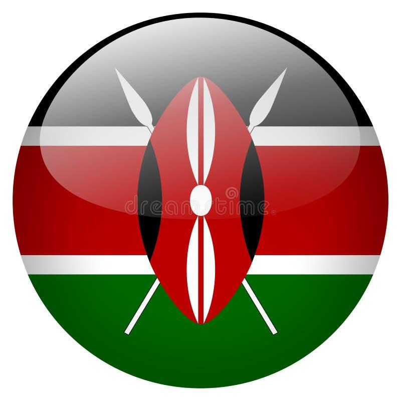 Κουμπί της Κένυας ελεύθερη απεικόνιση δικαιώματος