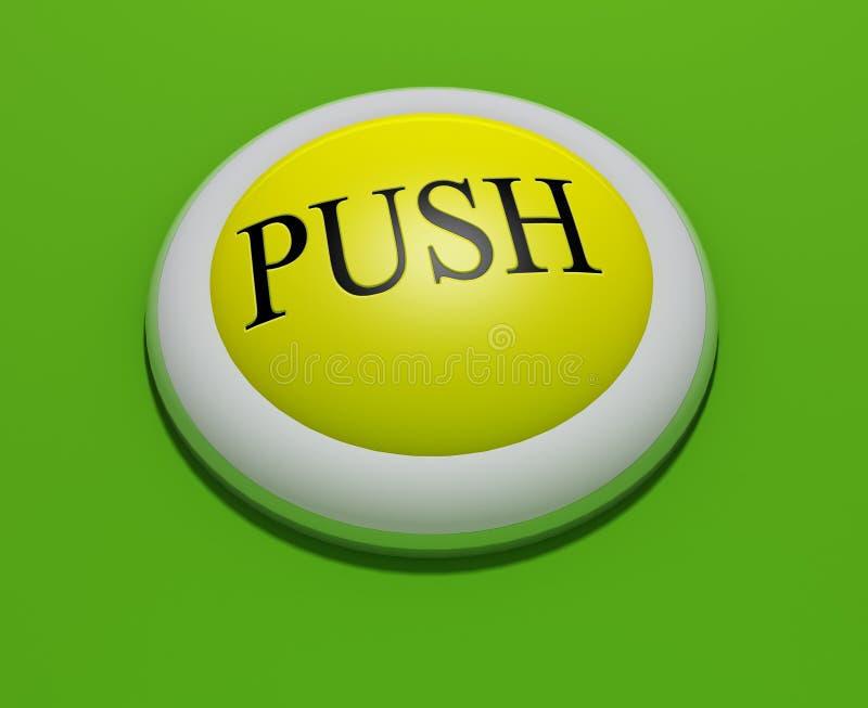 κουμπί 3 ελεύθερη απεικόνιση δικαιώματος