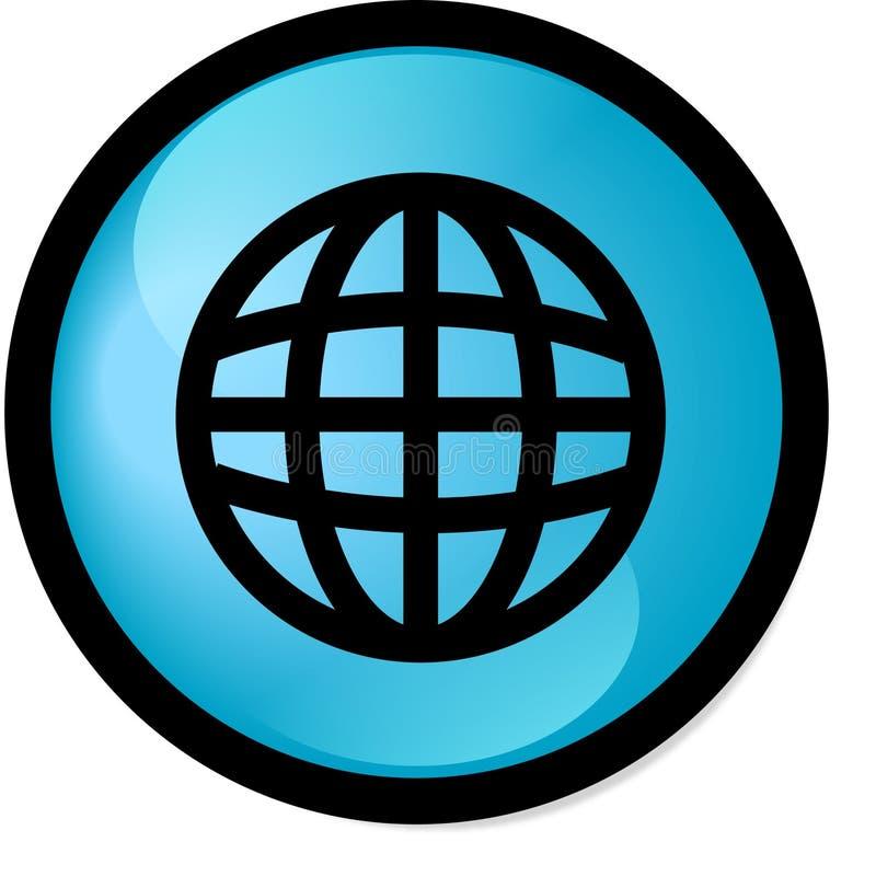 κουμπί διανυσματική απεικόνιση