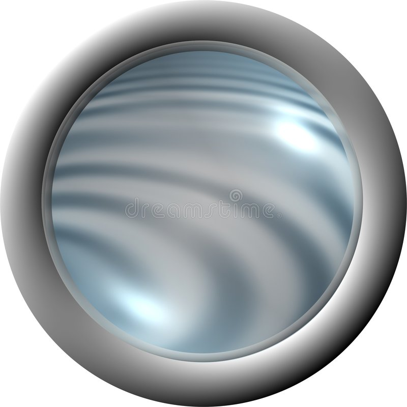 κουμπί aqua σαφές απεικόνιση αποθεμάτων