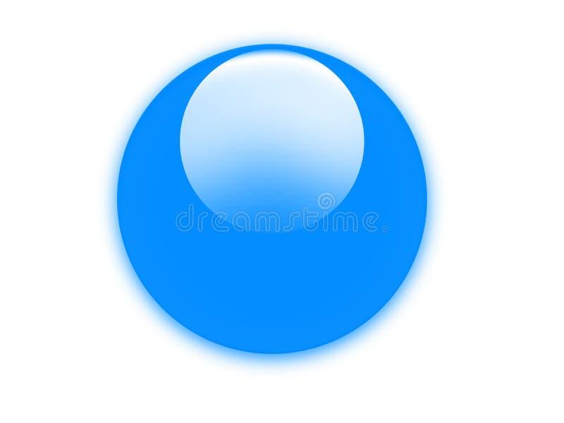 κουμπί aqua ελεύθερη απεικόνιση δικαιώματος