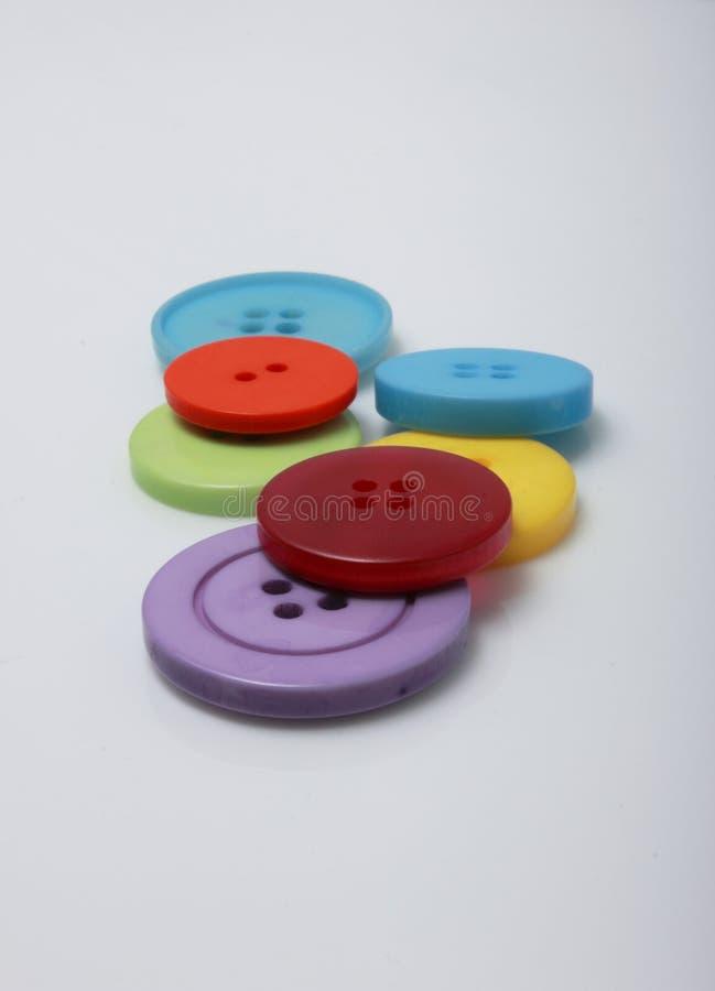 κουμπιά έξι στοκ εικόνες