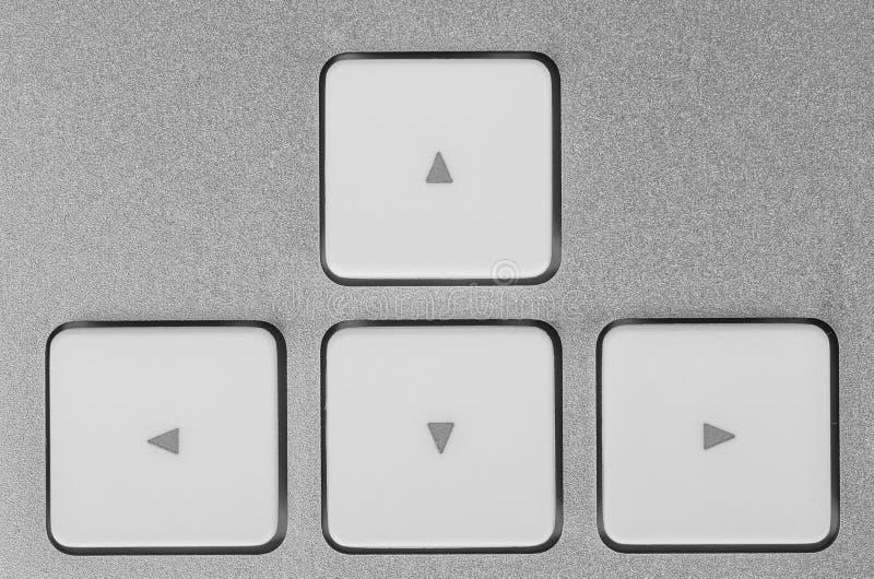 Κουμπιά ελέγχου - διαβιβάστε, οπίσθιος, σωστός, αριστερά. στοκ εικόνες με δικαίωμα ελεύθερης χρήσης