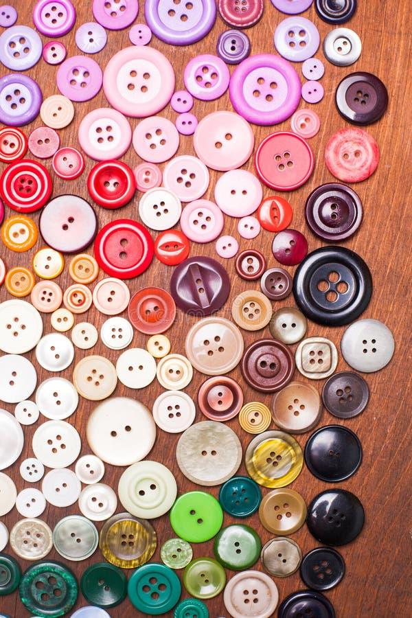 κουμπιά ζωηρόχρωμα στοκ φωτογραφία με δικαίωμα ελεύθερης χρήσης
