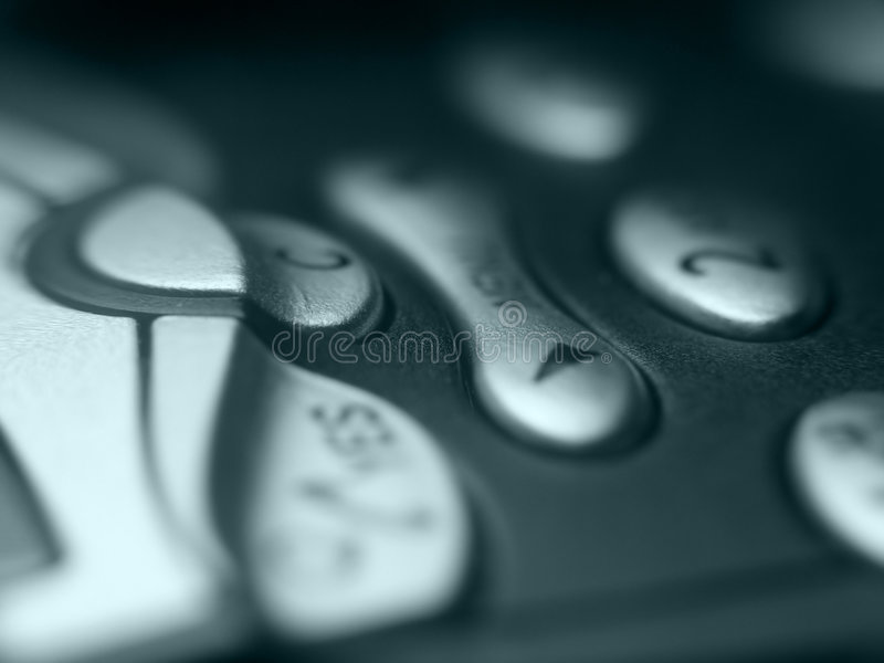 κουμπιά κινητά στοκ εικόνα