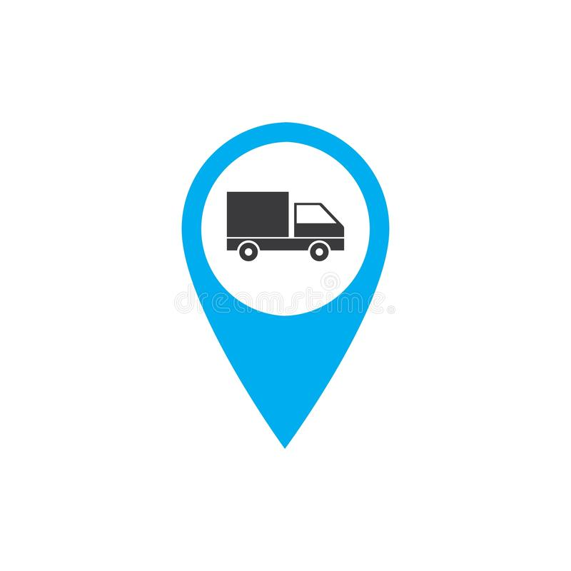 Κουμπιά μεταφορών που τίθενται με τη διανυσματική απεικόνιση χαρτών απεικόνιση αποθεμάτων