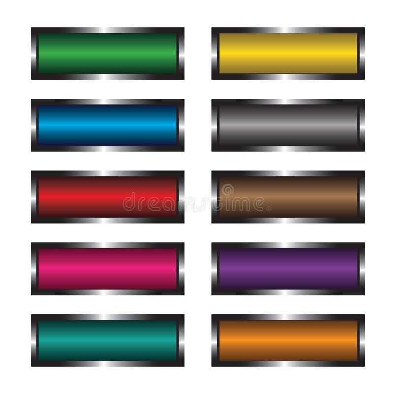 κουμπιά πολύχρωμα ελεύθερη απεικόνιση δικαιώματος