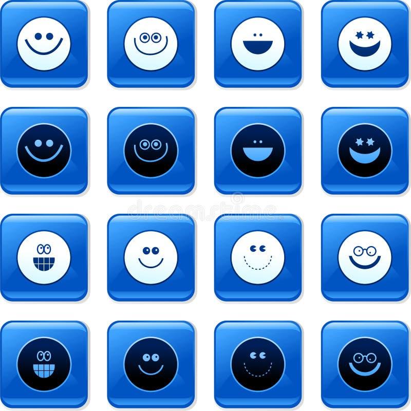 κουμπώνει smilie ελεύθερη απεικόνιση δικαιώματος