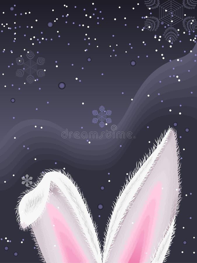 κουνέλι αυτιών στοκ εικόνα