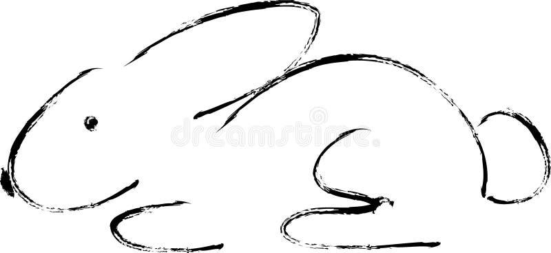 κουνέλι ξυλάνθρακα στοκ εικόνες με δικαίωμα ελεύθερης χρήσης
