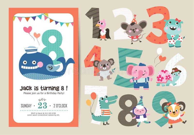 κουνέλι δώρων καρτών γενεθλίων ελεύθερη απεικόνιση δικαιώματος