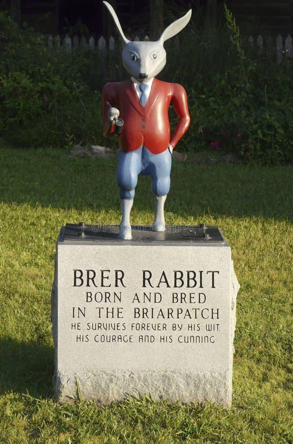 Κουνέλι Brer στο θείο Remus Museum στοκ φωτογραφία