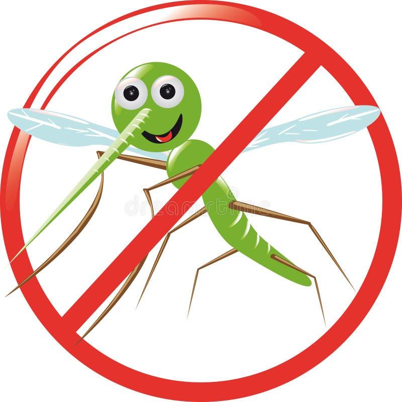 κουνούπι διανυσματική απεικόνιση
