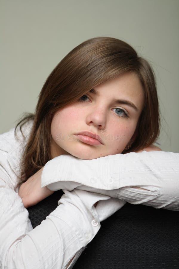κουρασμένες νεολαίες γυναικών στοκ φωτογραφία με δικαίωμα ελεύθερης χρήσης